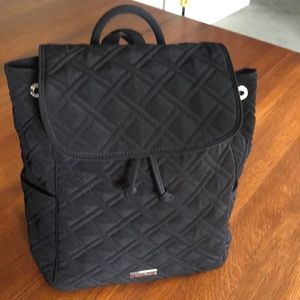 Like New! Vera Bradley quilted drawstring backpack